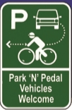 park and pedal